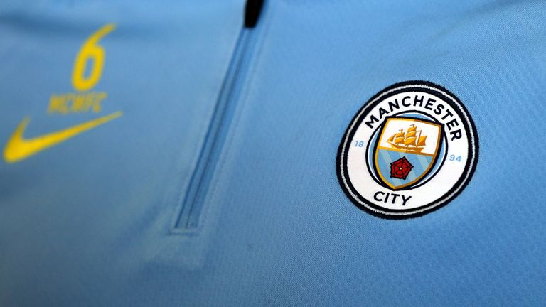Manchester City's new badge for the 2016/17 season