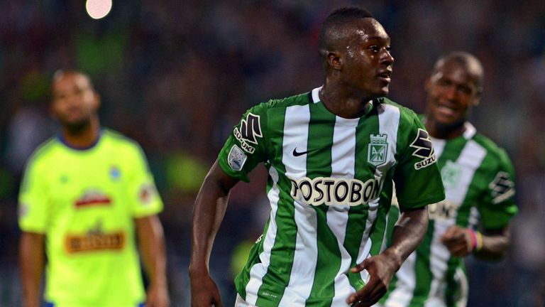 Manchester City's new signing Marlos Moreno has joined Deportivo La Coruna