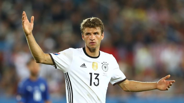 Thomas Muller failed to score at the tournament