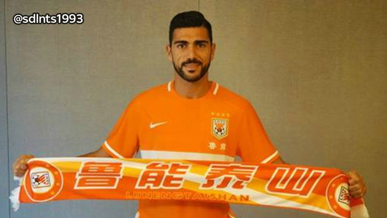 Graziano Pelle joined Chinese Super League side Shandong Luneng for £13m