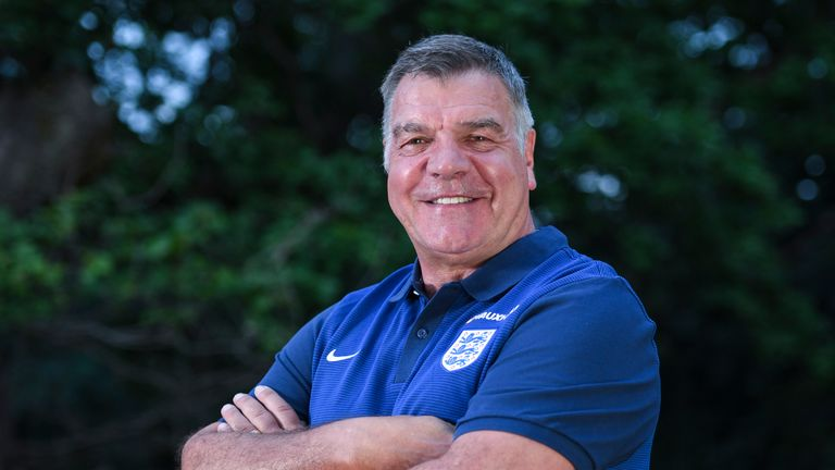 Allardyce was named England manager after Euro 2016