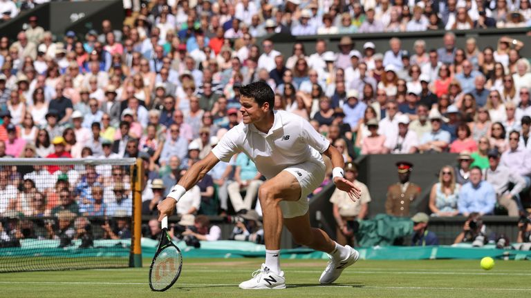 Milos Raonic lost to Andy Murray in the Wimbledon men's singles final but they could meet again in the Davis Cup