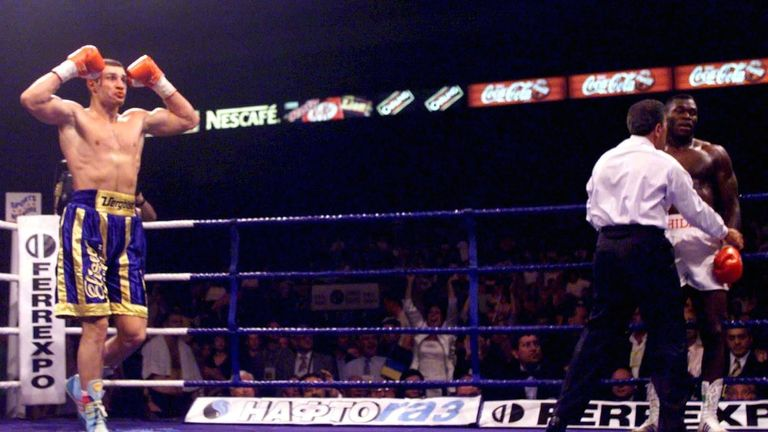 Image result for Klitschko vs Herbie Hide