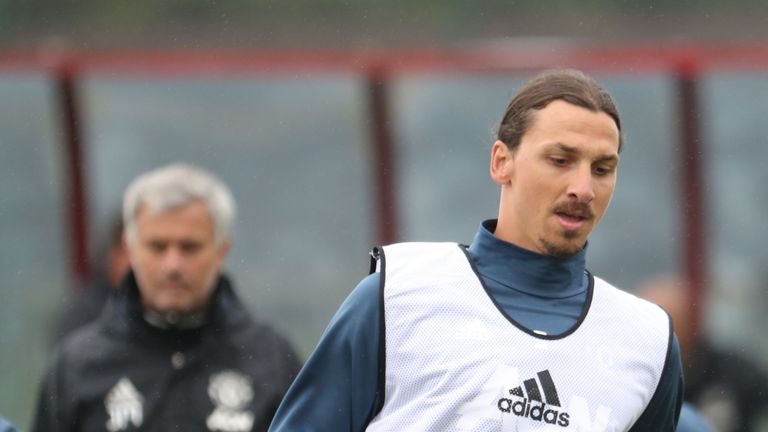 Image result for mourinho and zlatan