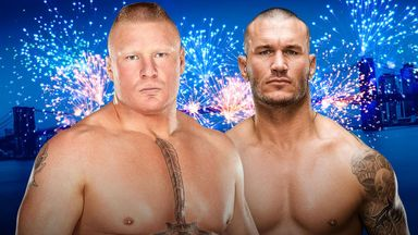 Brock Lesnar and Randy Orton will go one-on-one at SummerSlam