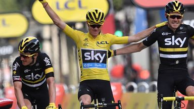 Chris Froome is the first rider to retain the Tour de France title since 1995