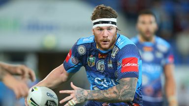 Chris McQueen playing for Gold Coast Titans