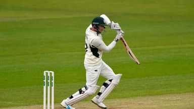 Joe Clarke will resume on 46 as Worcestershire aim to make sure of promotion