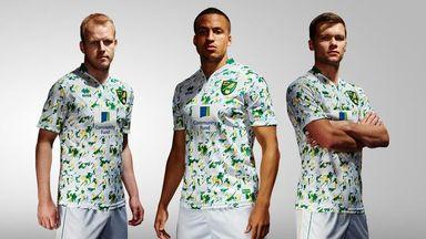 Norwich City unveil Errea third kit for 2016/17 season