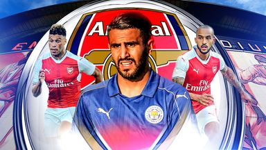 Could Leicester City winger Riyad Mahrez be the answer for Arsenal?