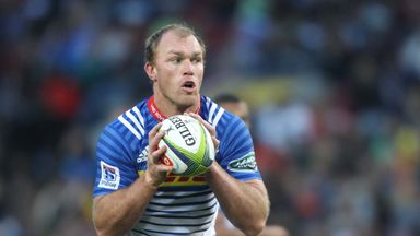 Schalk Burger played his final match for the Stormers on Saturday