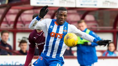Tope Obadeyi is relishing the opportunity to play for Dundee United