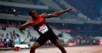 Bolt, Harrison star in London