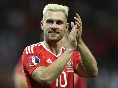Wales midfielder Aaron Ramsey