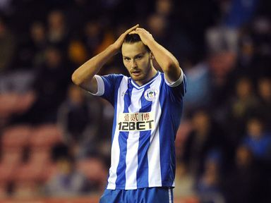 Nick Powell is in contention for a Wigan start