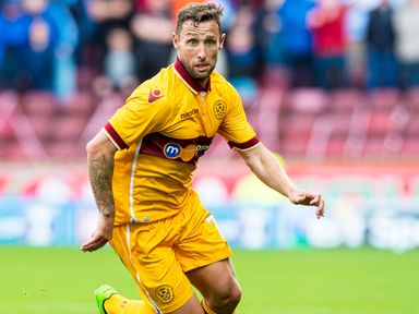 Scott McDonald: On target in Motherwell victory