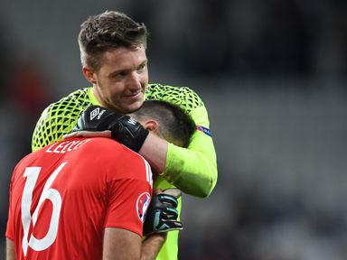 Wales duo Joe Ledley and Wayne Hennessey