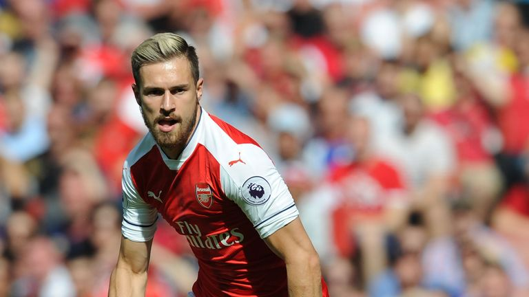 Aaron Ramsey is tipped to score first at 75/1
