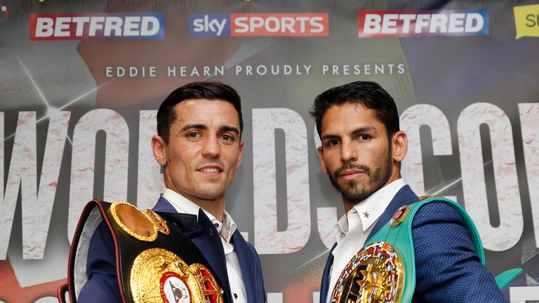 Linares Denies Claims of Struggling To Make 135 For Crolla