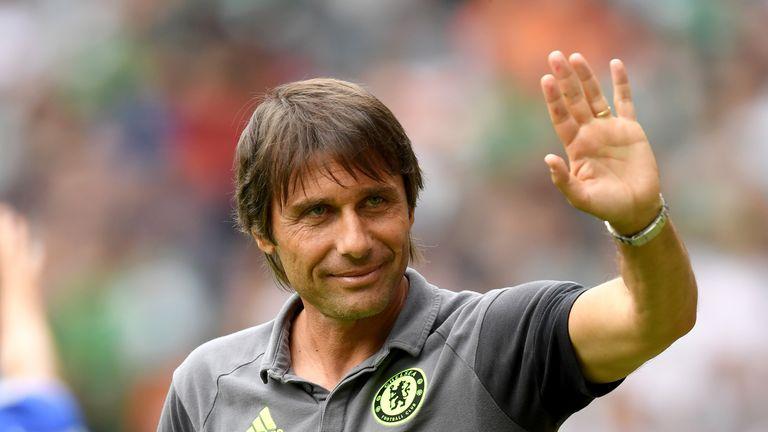 Conte and Chelsea endured a tough pre-season as champions