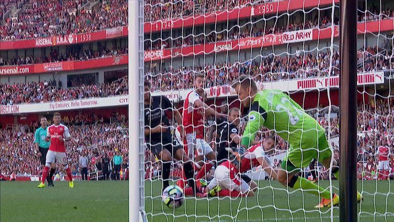 Chambers made it Arsenal 3-4 Liverpool