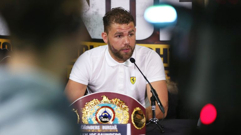 Billy Joe Saunders will top the bill in Cardiff later this month