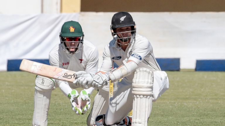 New Zealand beat Zimbabwe in 2nd Test, win series