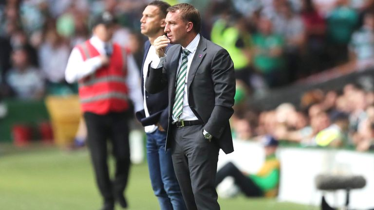 Brendan Rodgers was disappointed with Celtic's finishing in their 2-0 win over Alloa