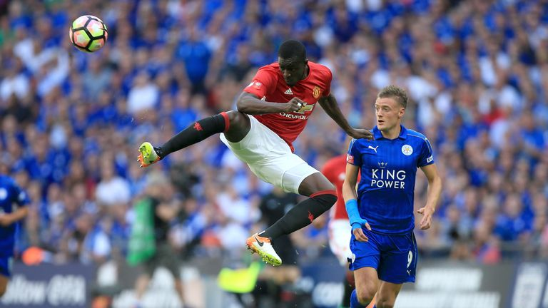 Eric Bailly impressed on his first Manchester United appearance against Leicester