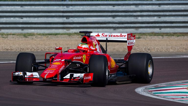 f1 in 2017: a first look at the sport's future with ferrari tyre