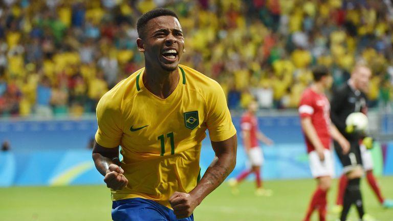 Gabriel Jesus helped Brazil win Olympic gold