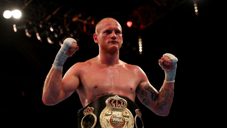 George Groves defends his WBA 'International' belt against Eduard Gutknecht