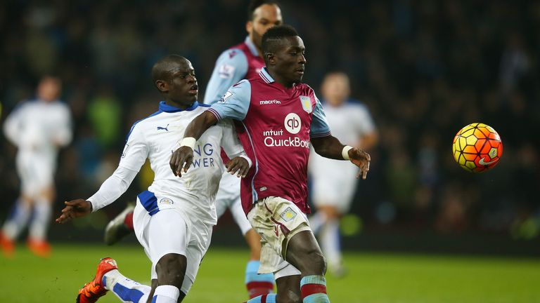 N'Golo Kante in action against Gueye in last season's Premier League
