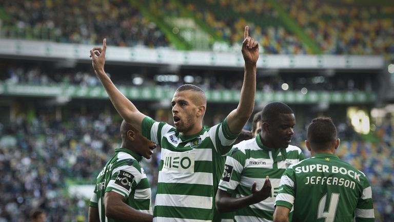 Slimani has been prolific for Sporting