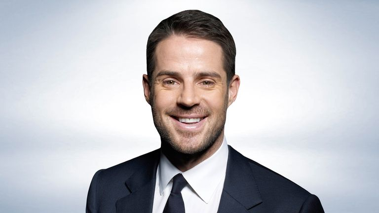 Jamie Redknapp regularly appears on Sky Sports