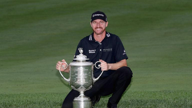 Jimmy Walker will not be able to defend the Wanamaker Trophy this weekend