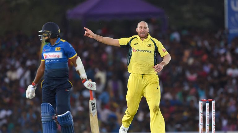 Finch fires as Australia wins ODI series