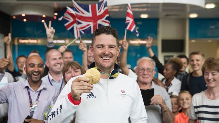 Justin Rose claimed gold for Great Britain at the Rio Olympics