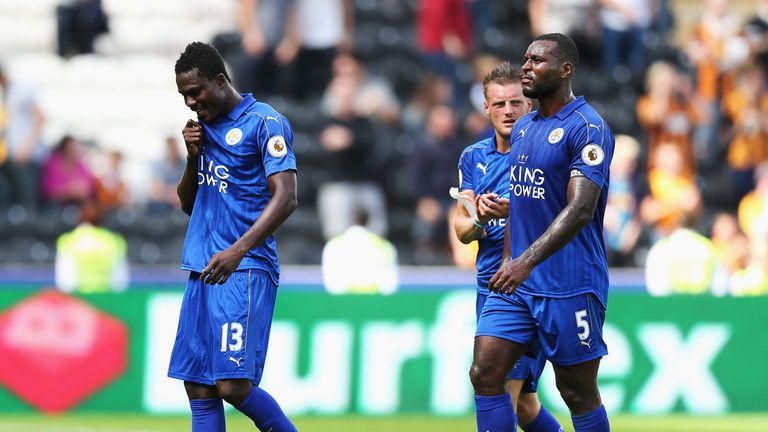 Image result for leicester city players after losing to hull city