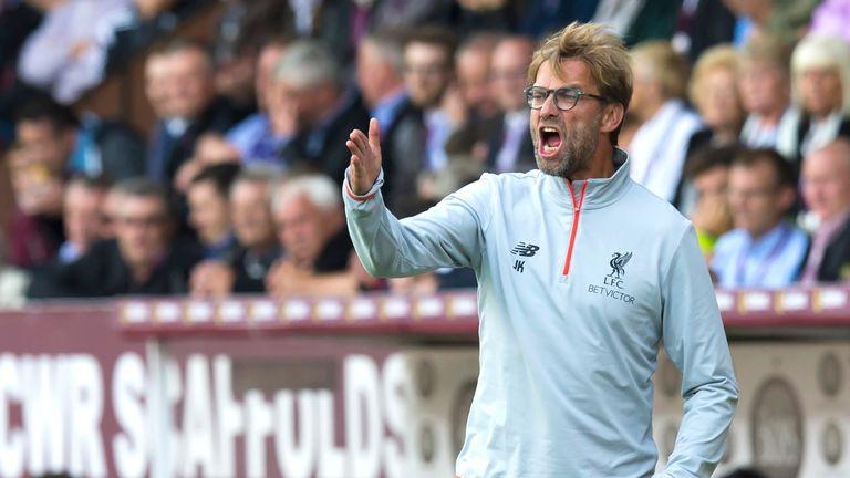 Liverpool's Jurgen Klopp