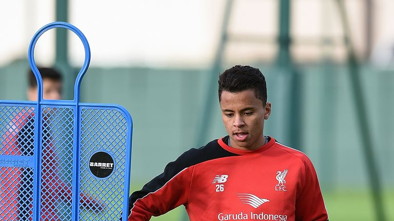 Liverpool midfielder Allan has not yet qualified for a UK work permit
