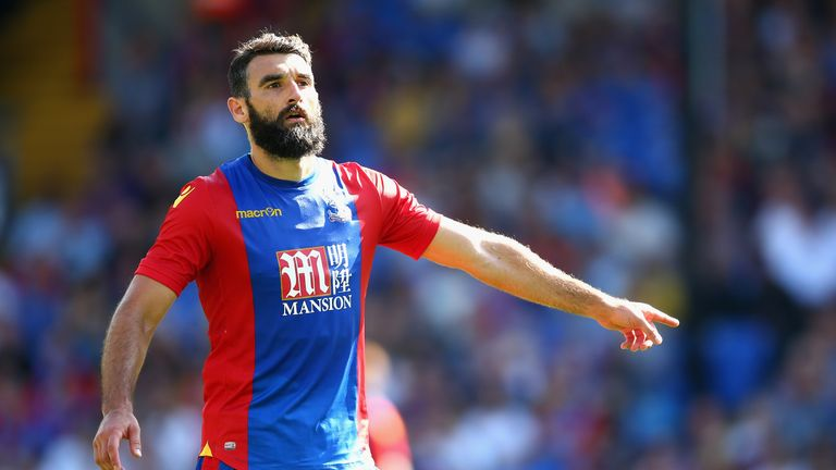 Jedinak was captain at Crystal Palace before joining Roberto Di Matteo's side in August