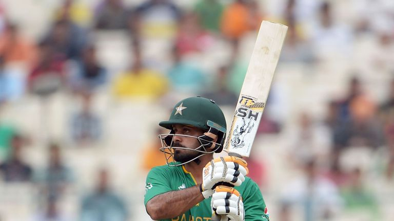 Hafeez was omitted from Pakistan's squad to tour New Zealand