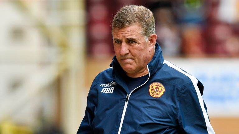 Motherwell parted ways with Mark McGhee
