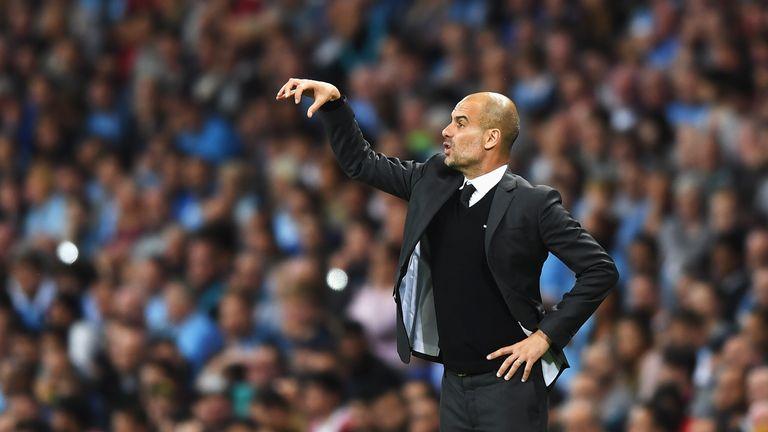 New Man City boss Pep Guardiola