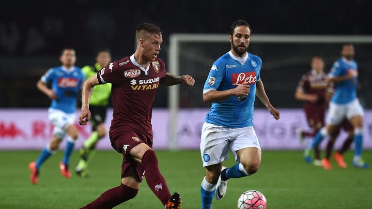 Jansson in action against Gonzalo Higuain during his time at Torino