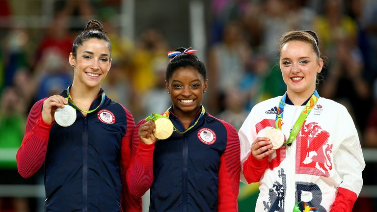 Amy Tinkler And Nile Wilson Win Gymnastics Bronze Medals
