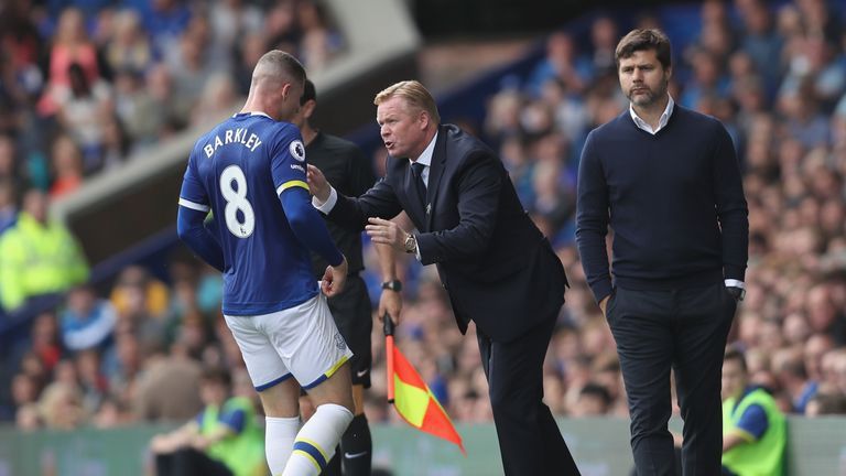 Ronald Koeman is hopeful Barkley will put pen-to-paper on a new contract at Goodison Park