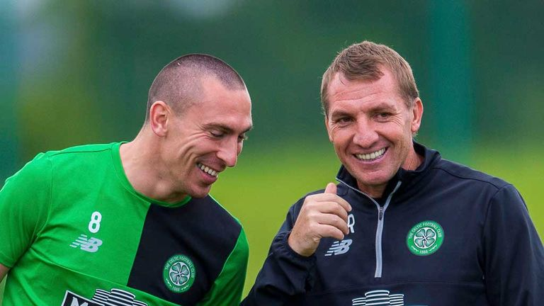 Image result for brendan rodgers laughing celtic