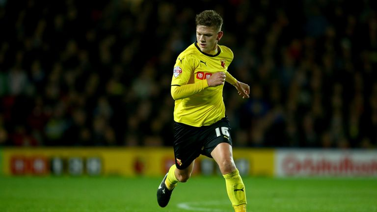 Sean Murray: Swindon Town sign Watford midfielder on free transfer